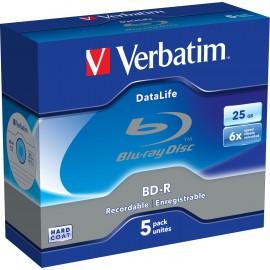 Verbatim DataLife 6x BD-R 25 GB 5 pieza(s) 43836