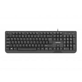 NATEC Trout teclado USB QWERTY Portugués Negro nkl-1715