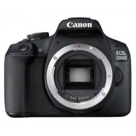 Canon EOS 2000D + EF-S 18-55mm f/3.5-5.6 III Juego de cámara SLR 24,1 MP CMOS 6000 x 4000 Pixeles Negro - 2728C002