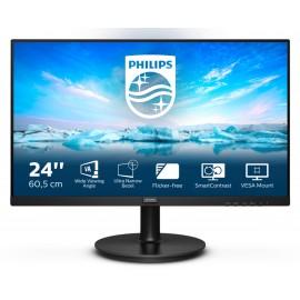Philips V Line 241V8L/00 LED display 60,5 cm (23.8'') 1920 x 1080 Pixeles Full HD Negro