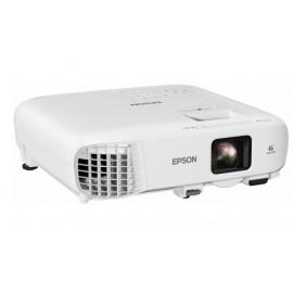 Epson EB-E20 videoproyector 3400 lúmenes ANSI 3LCD XGA (1024x768) Proyector para escritorio Blanco V11H981040