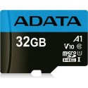 ADATA 32GB, microSDHC, Class 10 memoria flash Clase 10 UHS-I ausdh32guicl10a1-ra1