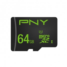 PNY High Performance 64GB MicroSDXC UHS-I Clase 10 memoria flash SDU64GHIGPER-1-EF
