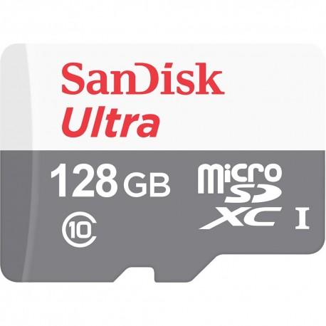 SanDisk Ultra memoria flash 128 GB MicroSDXC Clase 10 sdsqunr-128g-gn6mn