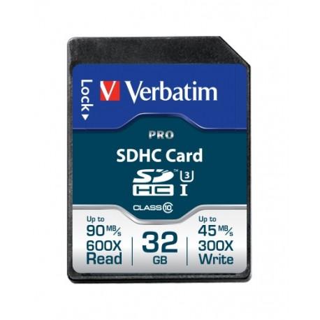 Verbatim Pro 32GB SDHC UHS Clase 10 memoria flash 47021