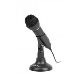 NATEC ADDER Negro Micrófono para conferencias - nmi-0776