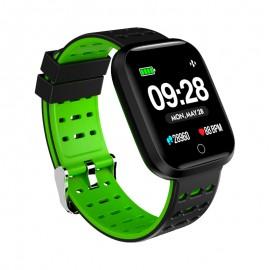 InnJoo IJ-SPORTWATCH-S-GRN smartwatch 3,38 cm (1.33'') TFT Negro