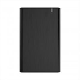 AISENS Caja Externa 2,5'' ASE-2525B 9.5mm SATA a USB 3.0/USB3.1 Gen1, Negra