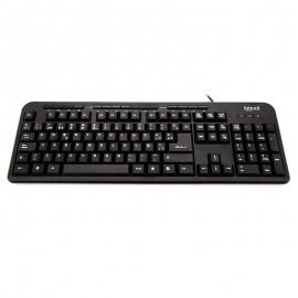 iggual CK-BASIC-120T teclado USB QWERTY Español Negro - IGG316801