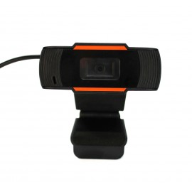 Leotec LEWCAM1002 cámara web 0,7 MP 1280 x 720 Pixeles USB Negr