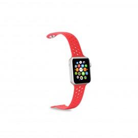 Celly WATCHBANDRD accesorio de smartwatch Grupo de rock Rojo Silicona