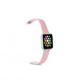 Celly WATCHBANDPK accesorio de smartwatch Grupo de rock Rosa Silicona