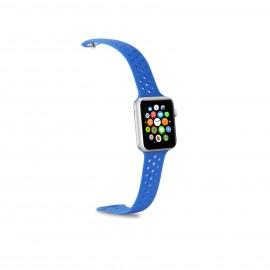 Celly WATCHBANDBL accesorio de smartwatch Grupo de rock Azul Silicona