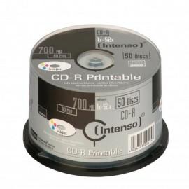 Intenso CD-R 700MB / 80min printable 1801125