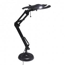 Paladone Batwing lámpara de mesa Negro - pp5055bm