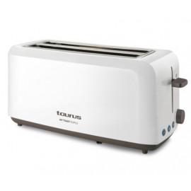 Taurus MyToast Duplo tostadora Blanco 1450 W - 8414234606396