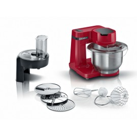 Bosch Serie 2 MUM robot de cocina 700 W 3,8 L Rojo - mums2er01