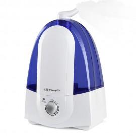 Orbegozo HU 2050 humidificador Ultrasónica 5,2 L 30 W Azul, Blanco