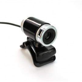 Leotec LEWCAM1001 cámara web 640 x 480 Pixeles USB 2.0 Negro, Plata