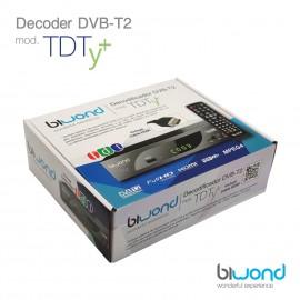 PINBOX TDT HD Decodificador-Grabador DVB-T2 TDTy+ Biwond - bw0040