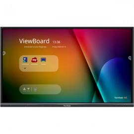 Viewsonic IFP6550-3 pizarra y accesorios interactivos 165,1 cm (65'') Pantalla táctil 3840 x 2160 Pixeles Negro HDMI