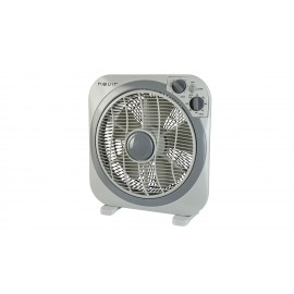 Nevir NVR-BF30-C calefactor eléctrico Interior Gris Ventilador eléctrico