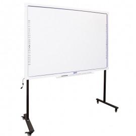 iggual IGG314371+IGG314364 pizarra y accesorios interactivos 2,18 m (86'') Pantalla táctil Negro, Gris, Blanco USB