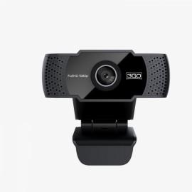 3GO WC1080P21 cámara web 1920 x 1080 Pixeles USB Negro