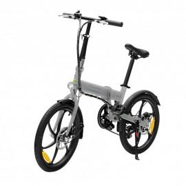 smartGyro Ebike Crosscity Negro, Plata 50,8 cm (20'') Litio - sg27-166