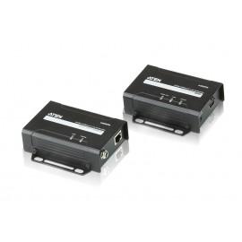 Aten VE801 AV transmitter & receiver Negro extensor audio/video