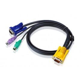 Aten 2L5203P 3m Negro cable para video, teclado y ratón (kvm) - 102442