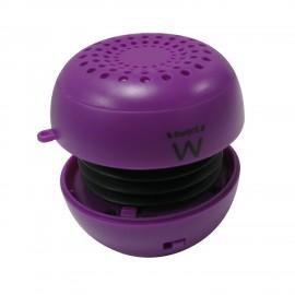 Ewent eBubble Mono portable speaker 3W Púrpura EW3532