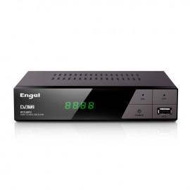 Engel Axil RT7130T2 descodificador para televisor Cable Full HD Negro