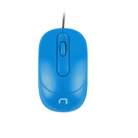 NATEC VIREO ratón Ambidextro USB tipo A Óptico 1000 DPI - nmy-1612