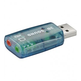 Goobay USB - Soundcard 2.0 OHL 2.0 canales - GOOBAY-95451