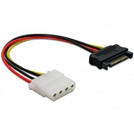Cable SATA a MOLEX  de alimentacion - 60115