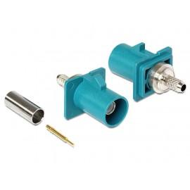 Conector Fakra Z para crimpar RG-174 316 DELOCK