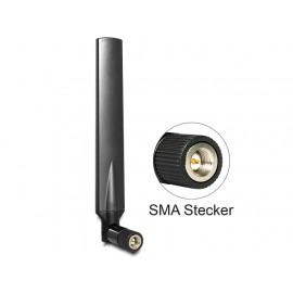 DeLOCK 88451 Omni-directional antenna RP-SMA 5dBi antena para red - 88451
