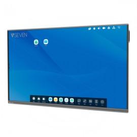 V7 IFP6502- pizarra y accesorios interactivos 165,1 cm (65'') Pantalla táctil Negro