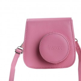 Fujifilm 70100136668 Cubierta de hombro Rosa estuche para cámara fotográfica