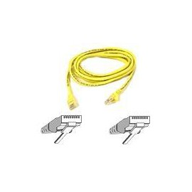 Belkin Cat5e Patch Cable Moulded Snagless Strain Relief 2m Yellow