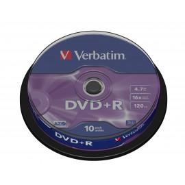 Verbatim DVD+R Matt Silver 43498