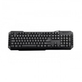 3GO Teclado Multimedia PS2 DRILE Negro