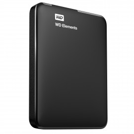 WESTERN DIGITAL HDD EXTERNO  750 GB  Negro