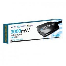 Wififullrange Adp. 3W Ralink 150N 11dBi USB WFR311