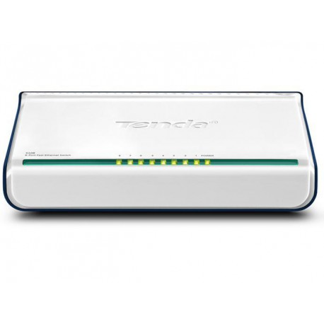 Tenda 8-Port Fast Ethernet Switch S108