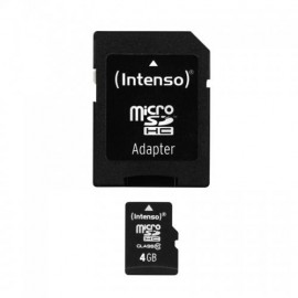 Intenso 4GB MicroSDHC 3413450