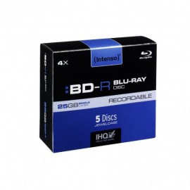 Intenso BD-R 25GB, 4x Speed - RECORDABLE 5001215